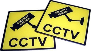 SECURITY CCTV  SIGNAGE12-12
