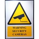 SECURITY WARNING SIGNAGE 60-45