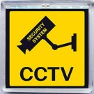 SOLAR POWERED CCTV WARNING SIGN
